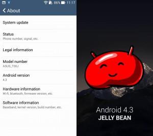 android 4-3 ZenFone 5