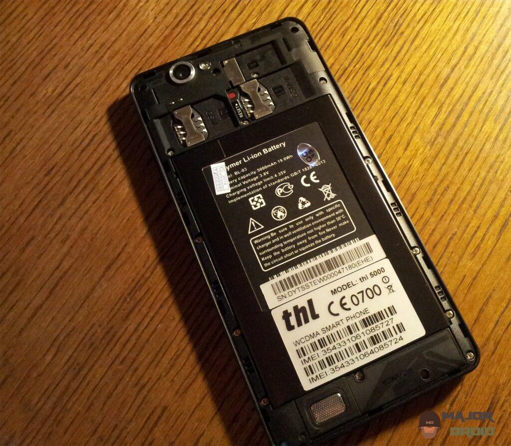 thl 5000 battery