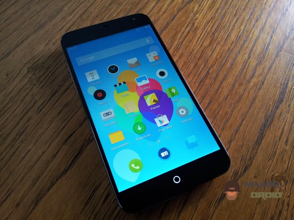 meizu mx3 design
