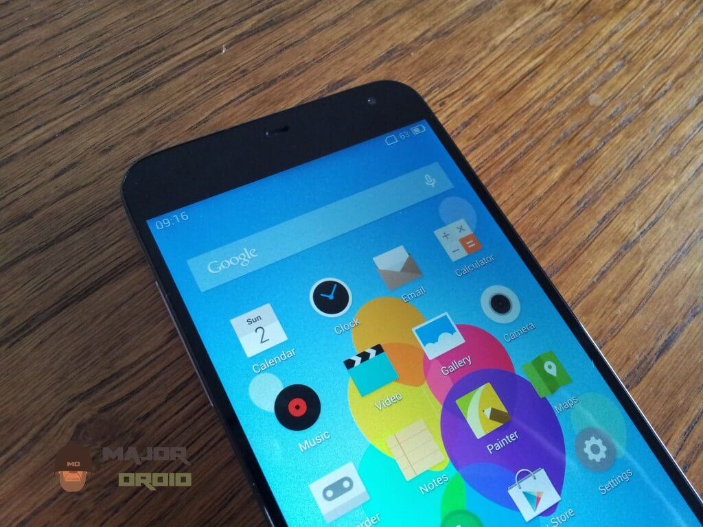meizu mx3 display