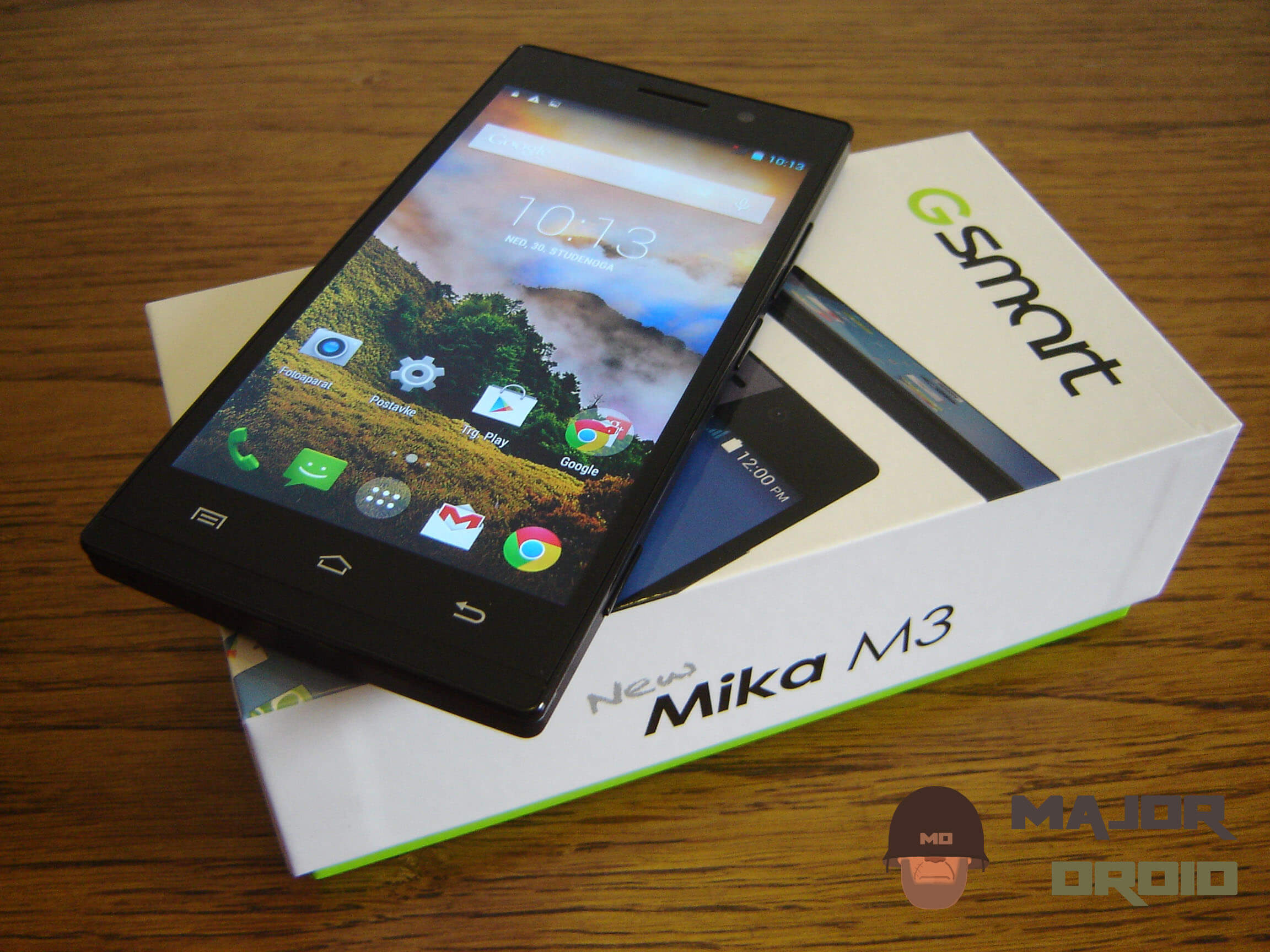 review for GSmart Mika M3