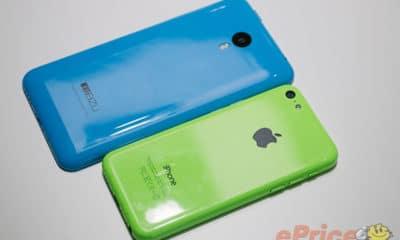 Meizu M1 Note vs. iPhone 5c