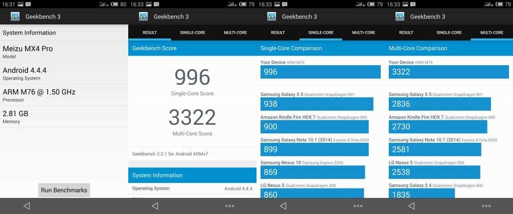 Meizu MX4 Pro (geekbench)