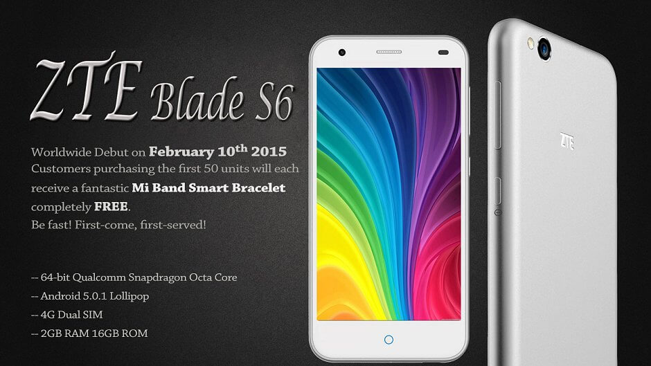 ZTE Blade S6 coupon (1)