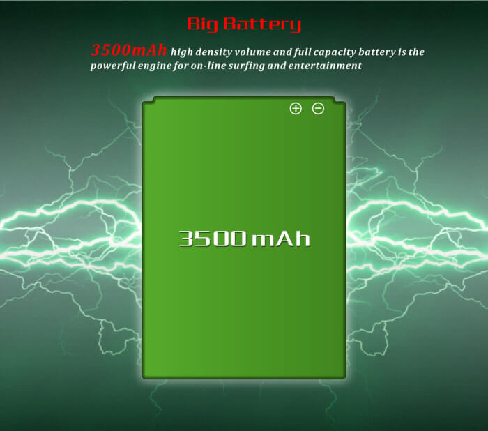 Kingzone Z1 battery