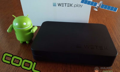 WeTek Play Android TV DVB-S2 Satellite Receiver