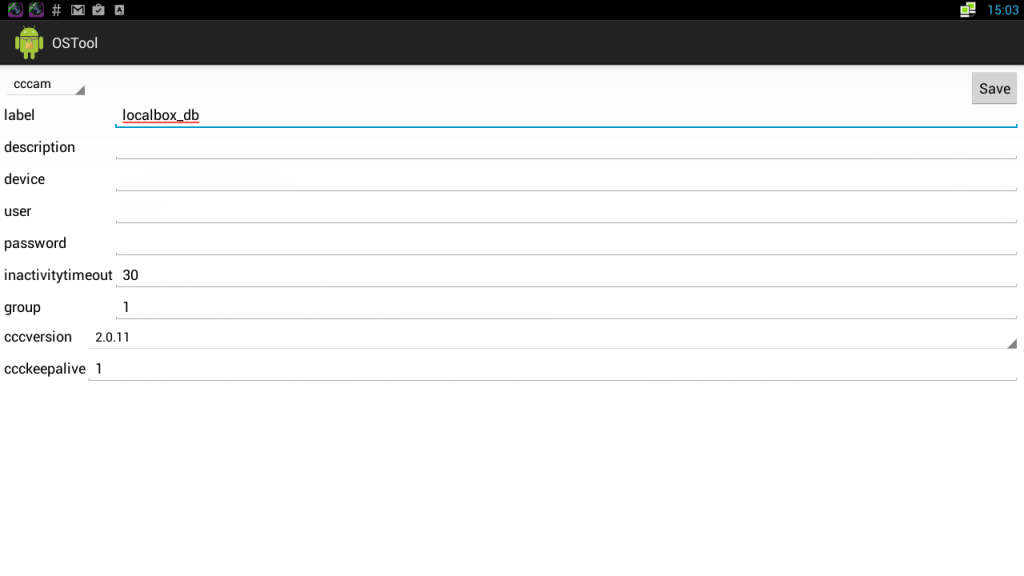 oscam cardsharing server