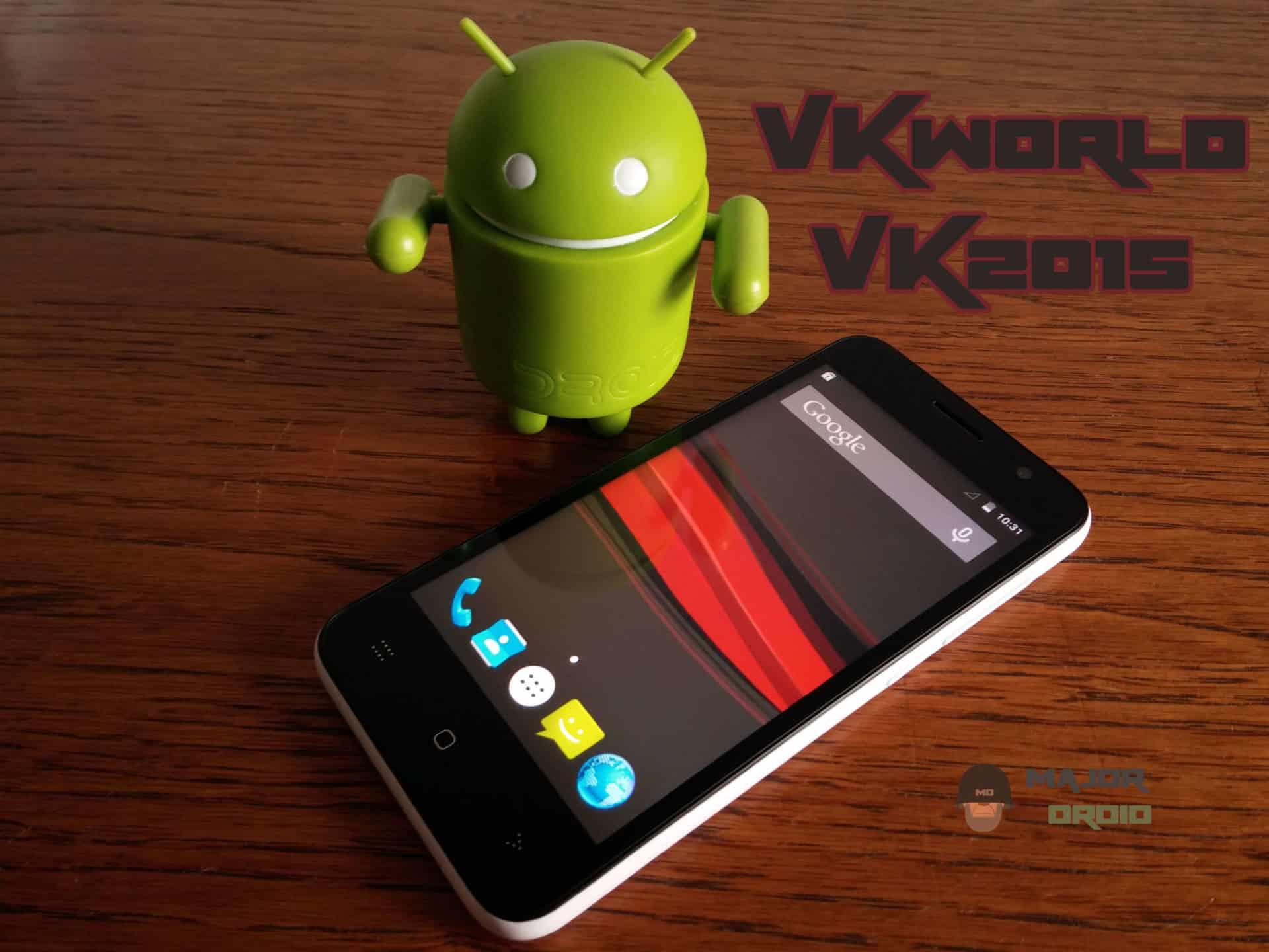 VKworld VK2015 smartphone