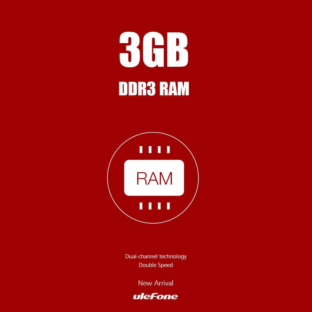 3GB RAM