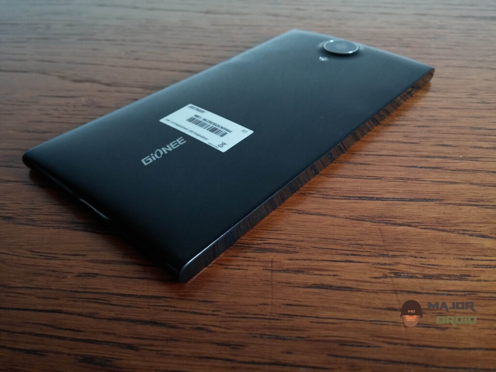 Gionee Elife E7 rear side