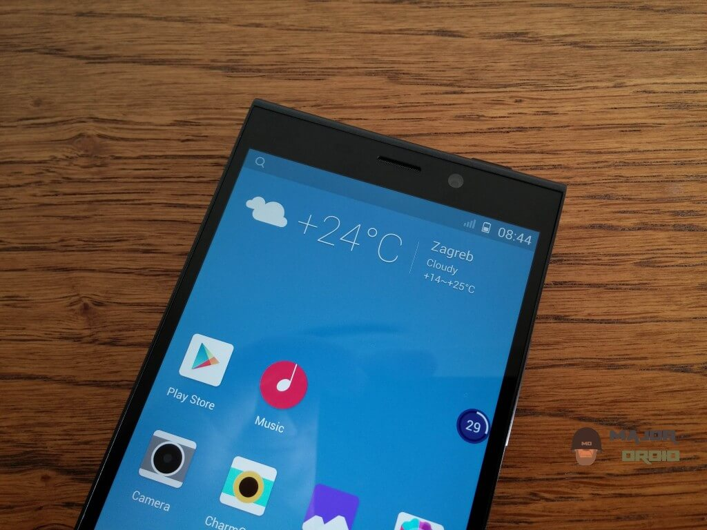 Gionee Elife E7 screen