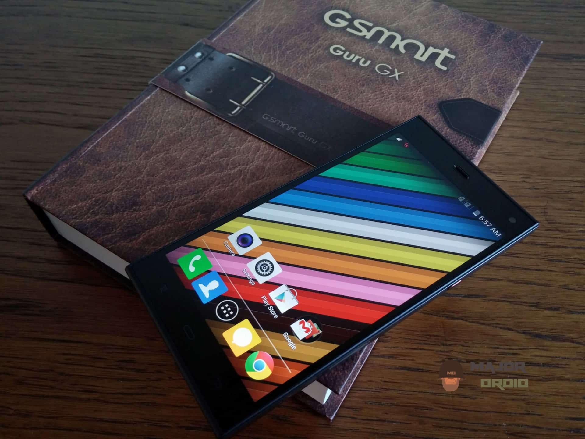 dual-sim smartphone gsmart guru gx