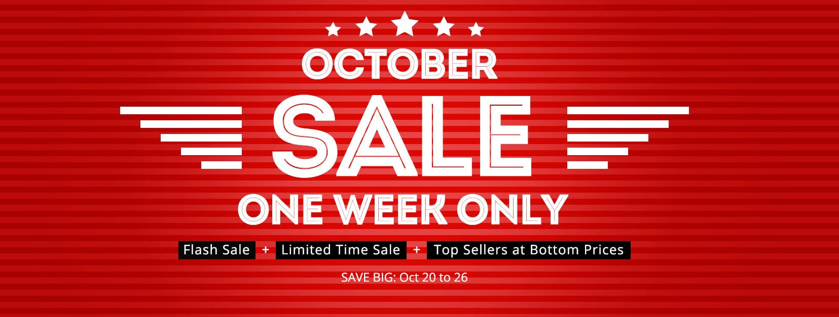 Everbuying online store october huge discount sale for Online retailer for sale