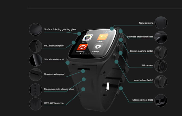 smartwatch-with-Android-OS-and-GPS-Ordro Sw16