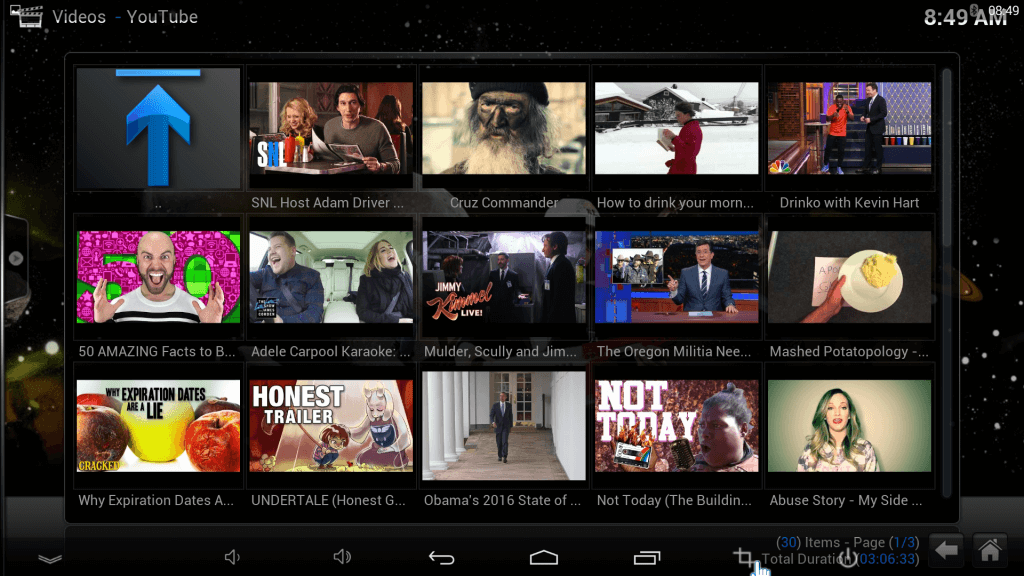 kodi youtube