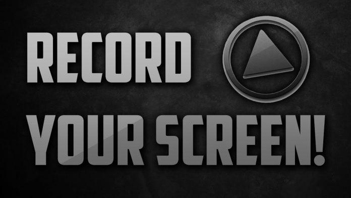 how to record a screen