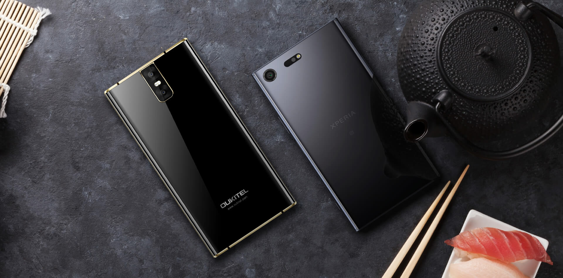 oukitel k3 is sony xperia xz premium clone with fully. Black Bedroom Furniture Sets. Home Design Ideas