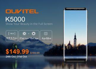 Article photo: Oukitel K5000 – 5000mAh battery & 18:9 display