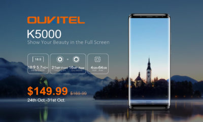 Article photo: Oukitel K5000 – 5000mAh battery & 18:9 display