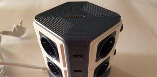 Article photo: Bestek mrj84018 8 ways & 6 USB ports extension lead review