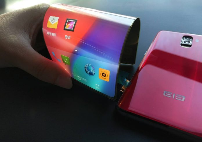 Elephone folding smartphone soon