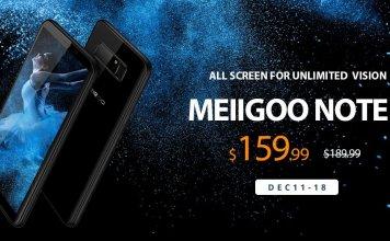 Meiigoo Note 8 sale on the Gearbest