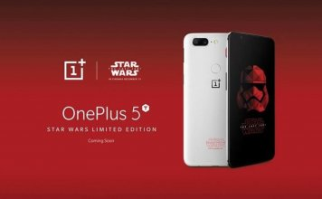 OnePlus 5T Star Wars Edition in Europe
