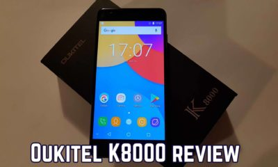 article photo: Oukitel K8000 review