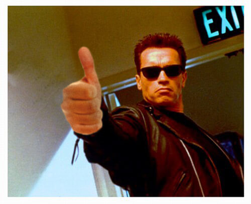 arnold schwarzenegger thumbs up