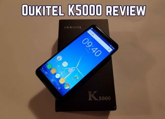 article photo: Oukitel k5000 review
