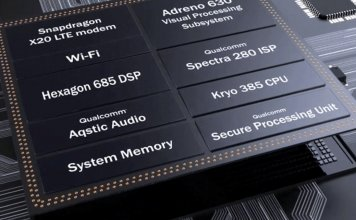 article photo: snapdragon 845 chipset