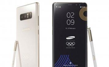 Galaxy Note 8 Pyeongchang 2018 Limited Edition