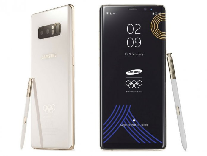 Galaxy Note 8 Pyeongchang 2018 Limited Edition