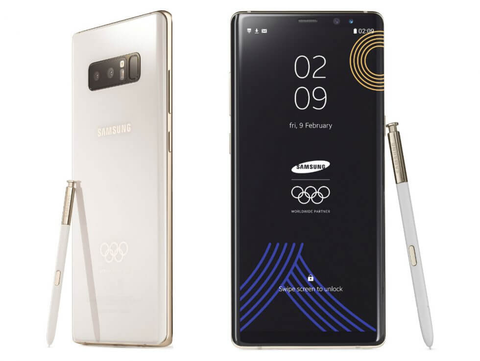 Samsung Galaxy Note 8 Olympic Games Limited Edition 2018