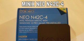MINIX NEO N42C-4 review