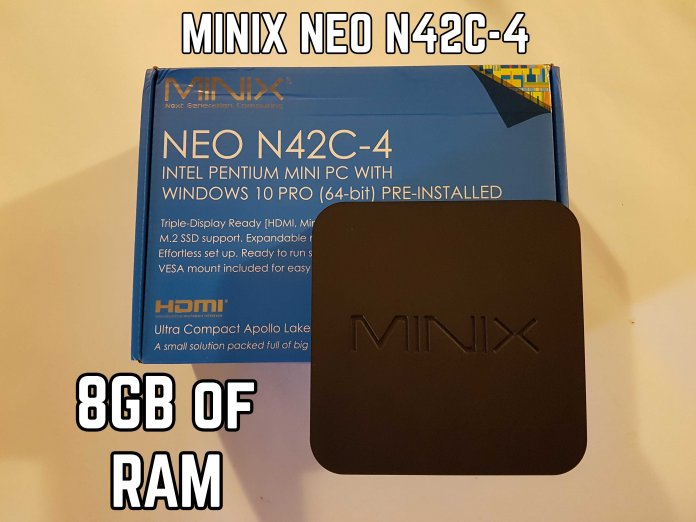 MINIX NEO N42C-4 review