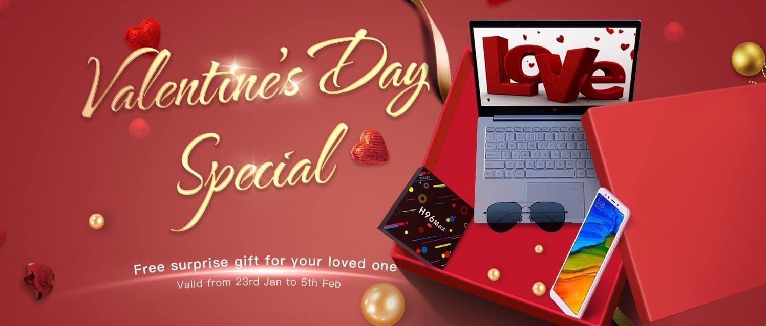 Geekbuying Valentines day deals