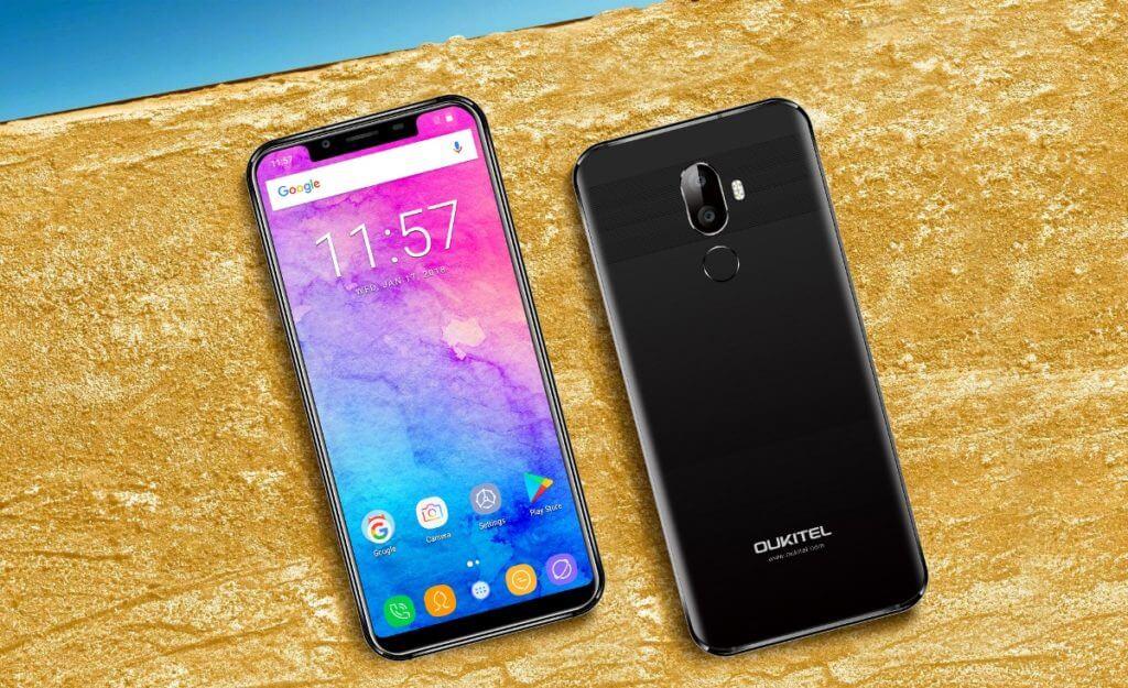 Oukitel U18 - iPhone X clone