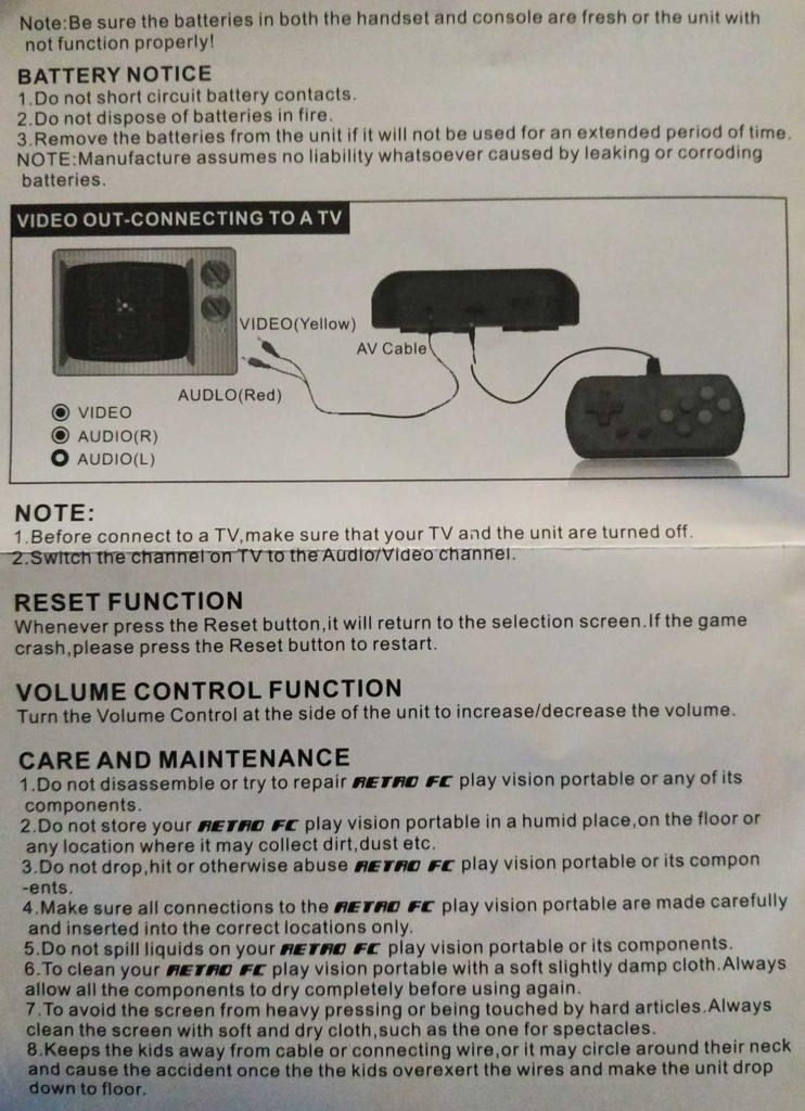 User manual Gocomma console