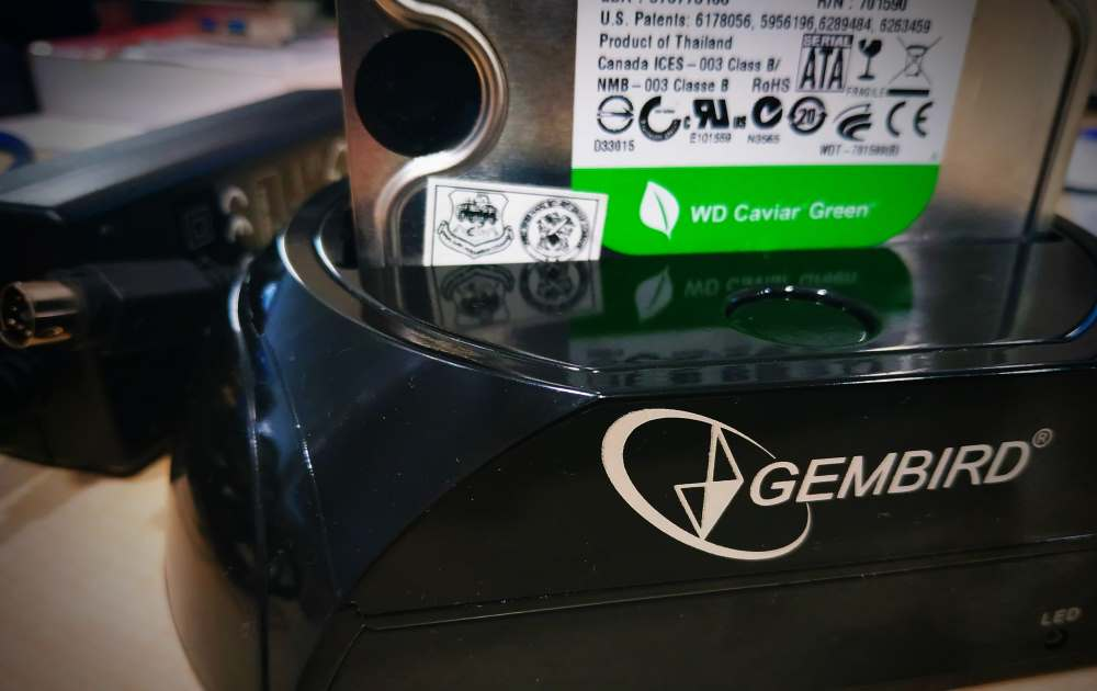 GEMBIRD docking station with Hard drive