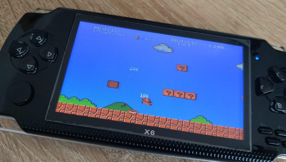 PSP X6 games