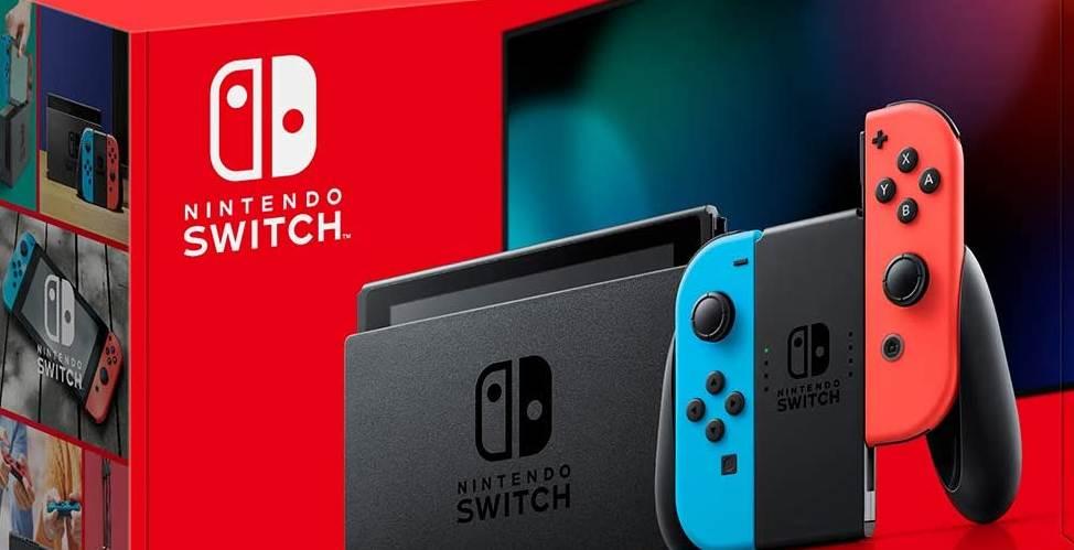 Nintendo switch in top 5 handheld game cosoles