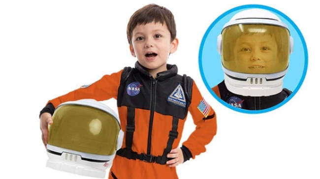 NASA space suit costume
