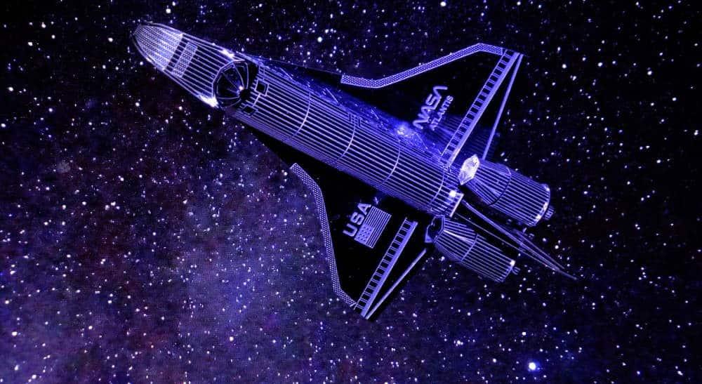NASA spaceship toy